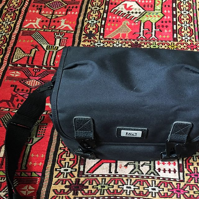 Black Large Camera Bag