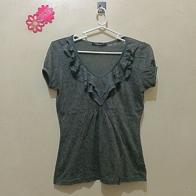 Bobson Gray Top For Women