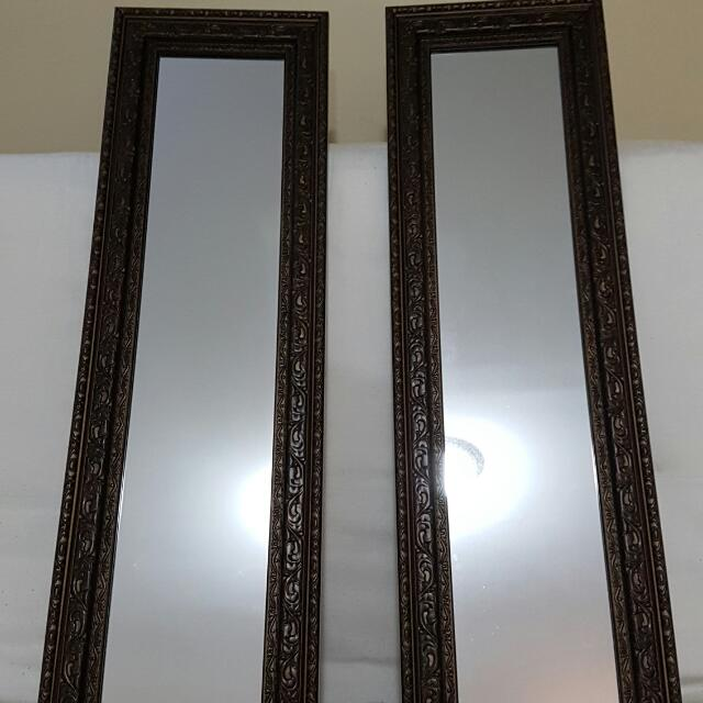 Brushed Metalic Brown Wall Frames