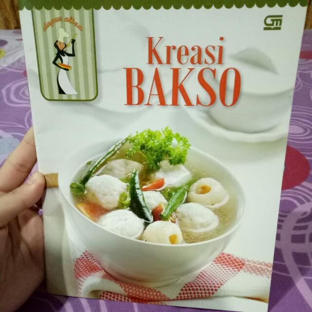 Buki Kreasi Bakso By gramedia