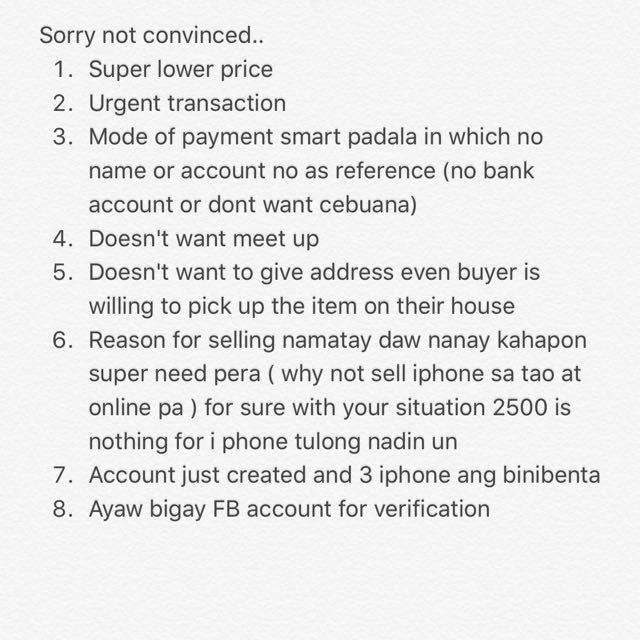 Buyer Awareness