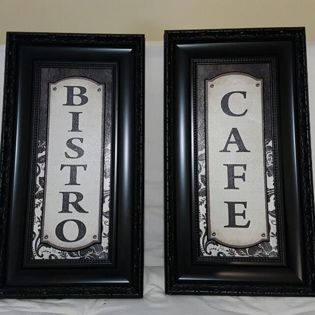 Café And Bistro Wall Decor
