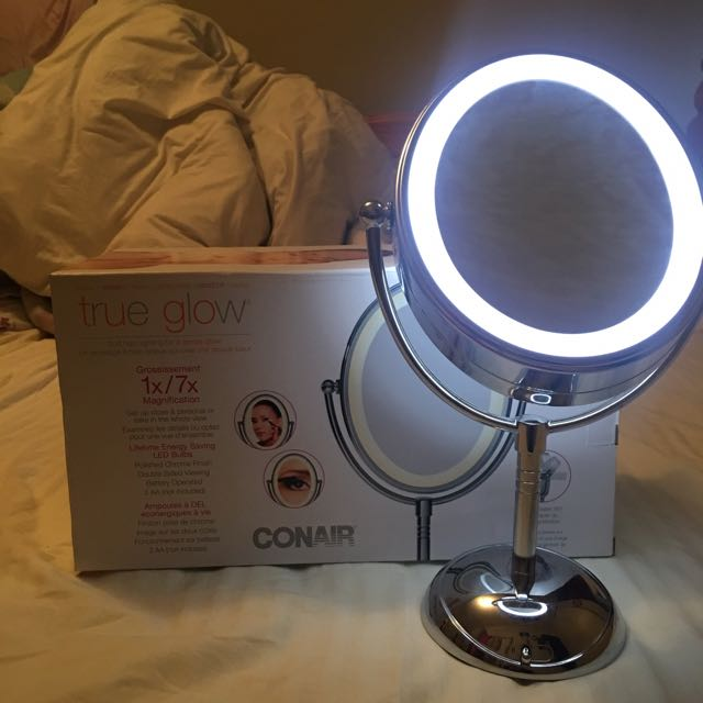 Conair Light Up Two Sided Mirror