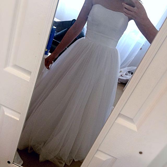 Debutante Ball Dress (Size 6-8)