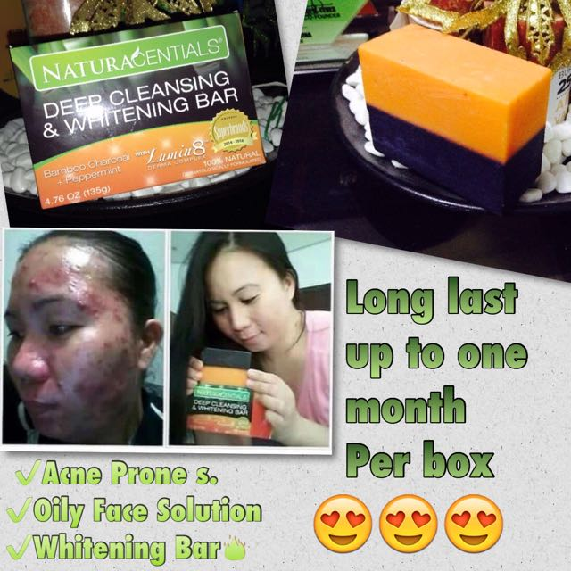 Deep Cleansing and Whitening Bar😍