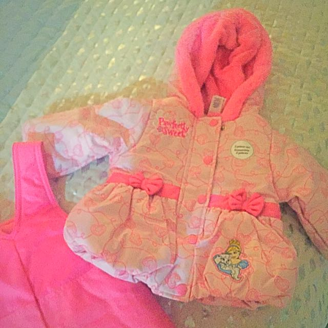 Disney Baby Snow Suit 6-12 Months
