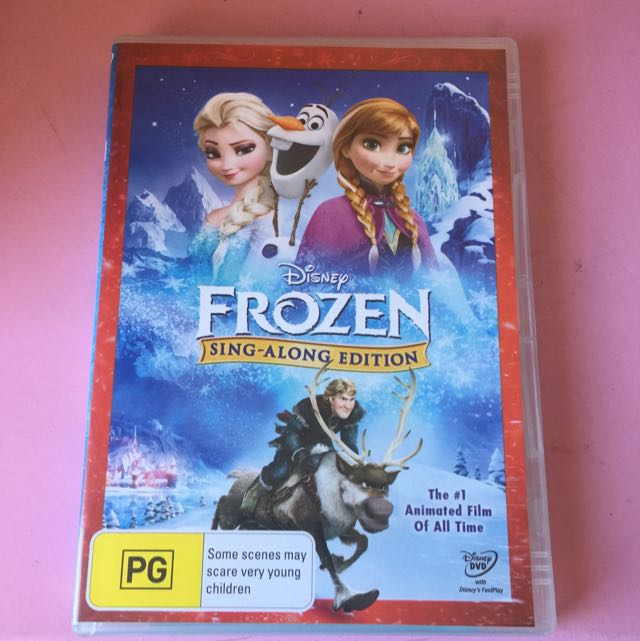 Disney Frozen DVD - Sing-Along Edition