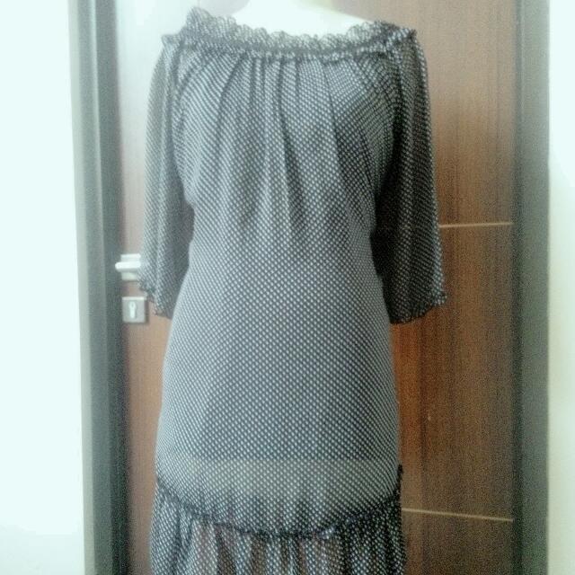 DRESS HITAM BIG SIZE