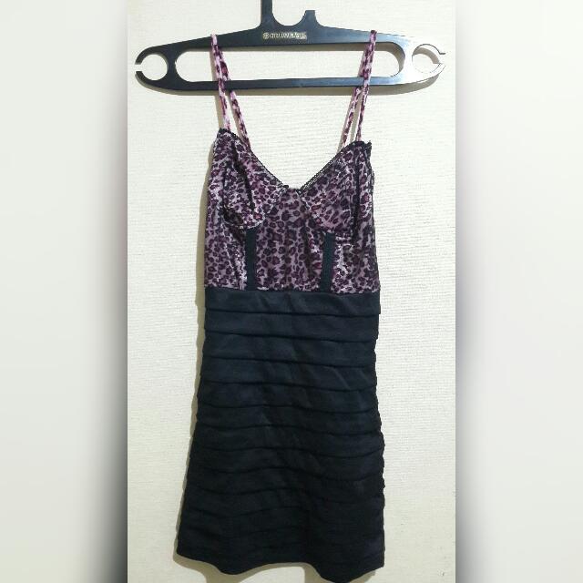 Dress Leopard Pink Size S - Bangkok