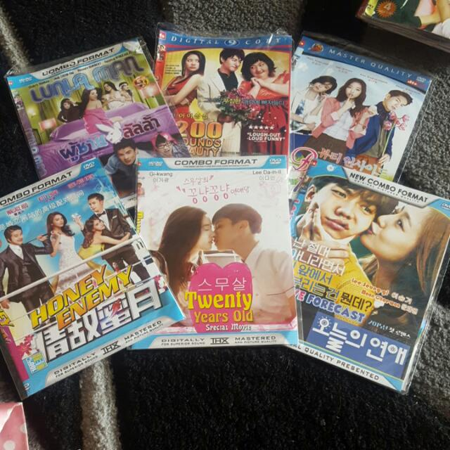 Dvd Korean & Thalian Movie!