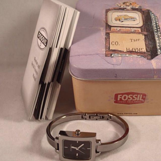 Fossil Bangle Watch