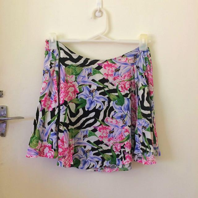 Full Circle Mini Skirt