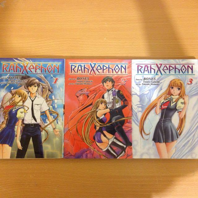 Full Manga Series