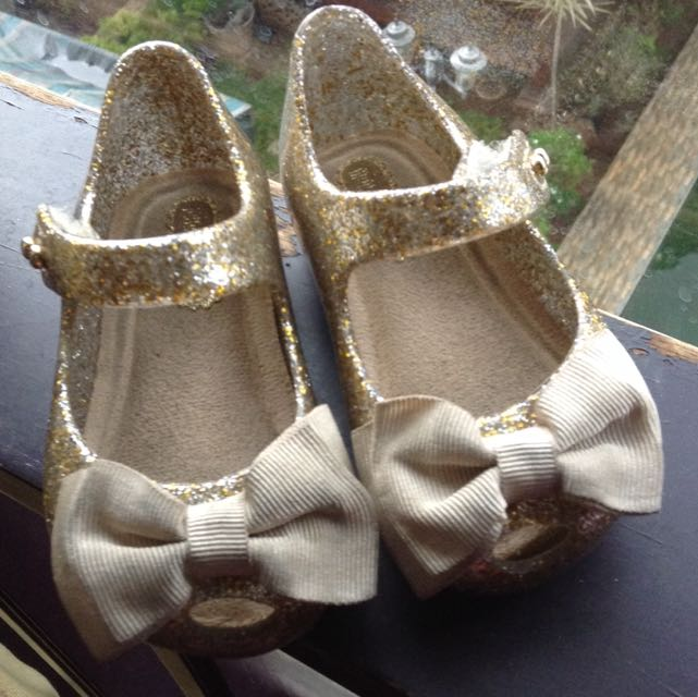 Gold Mini Melissa Bow