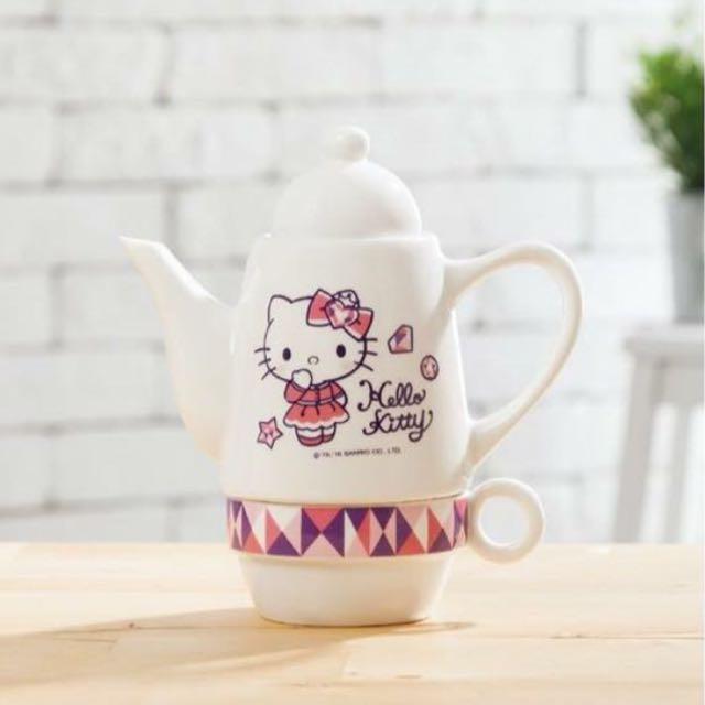 Hello Kitty 華麗變身杯壺組