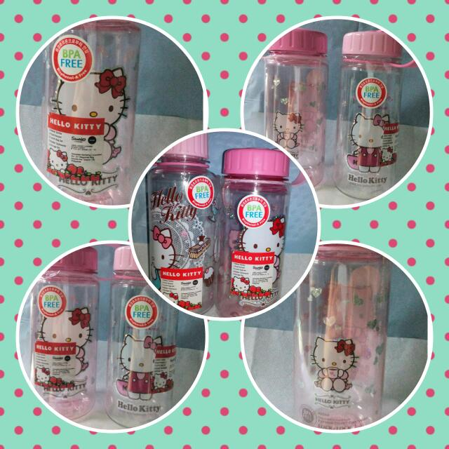 Hello Kitty BPA Free Water Bottle (Repriced)