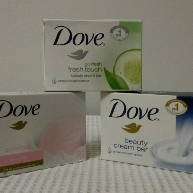 Imported Dove Soap