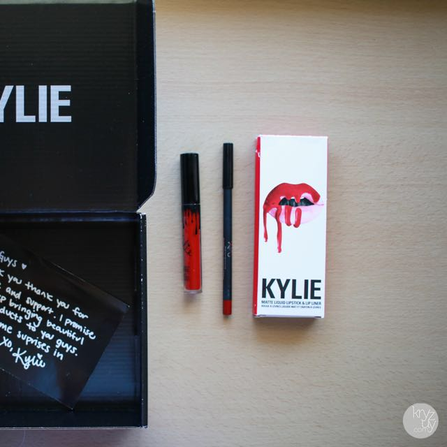 Kylie Cosmetics Lip Kit - MARY JO K(See Description)