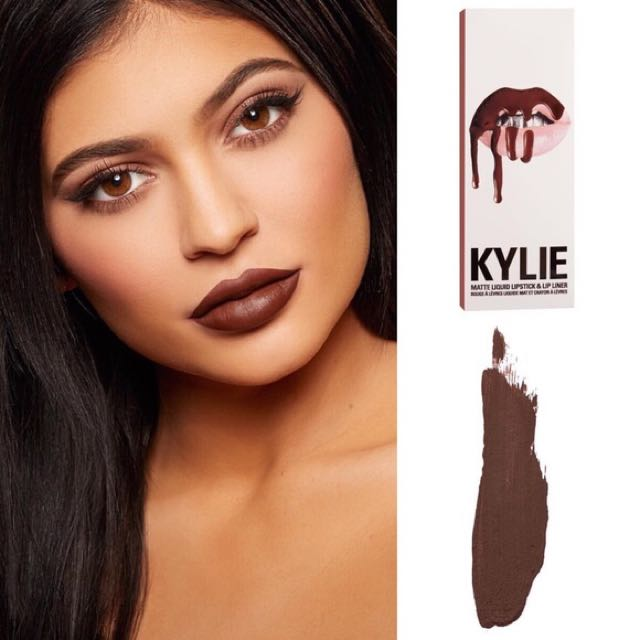 Kylie Cosmetics Lip Kit - TRUE BROWK K(See Description)
