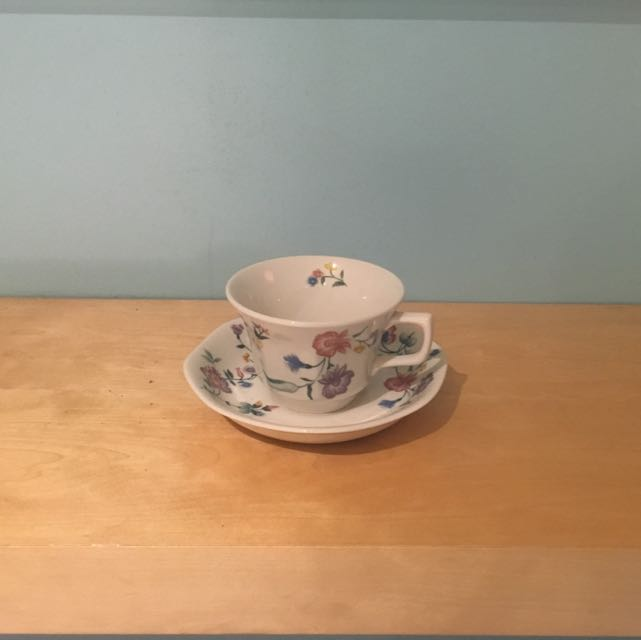 Laura Ashley Fine China Teacup