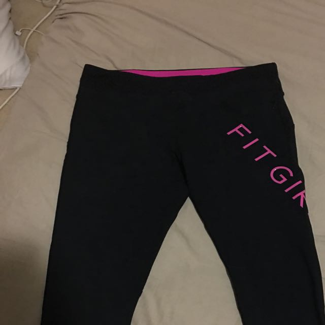 Lorna Jane 3/4 Work Out Tights