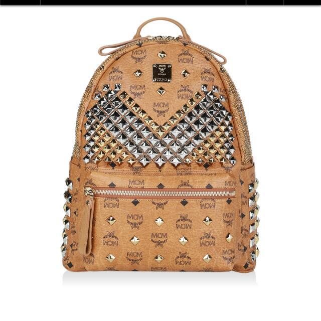 MCM Limited Edition Brown PVC Dium Shoulder Bag