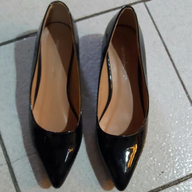 Mendrez Black Shoes