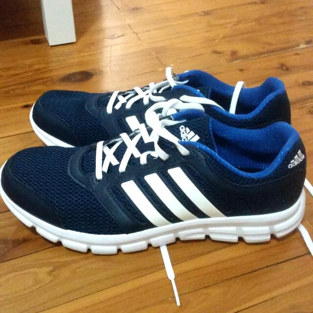 Men's Blue Adidas Running Shoes