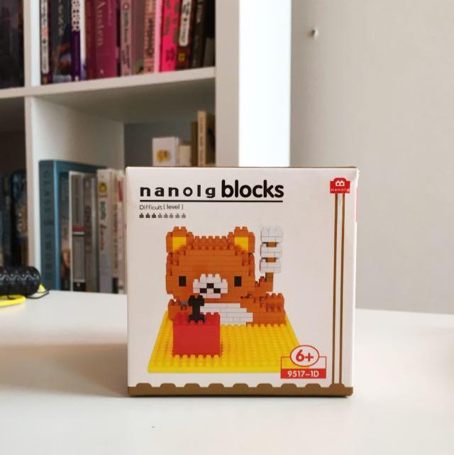 Nano Block Rilakuma