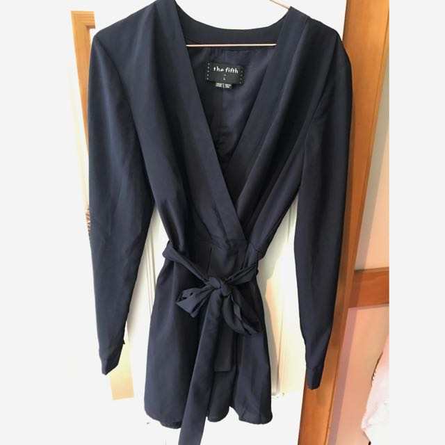 Navy Blue The Fifth Playsuit