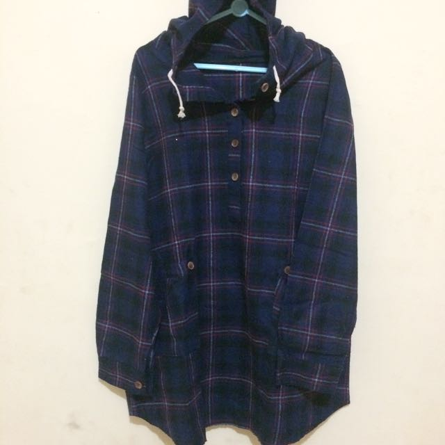 Navy Plain Flannel