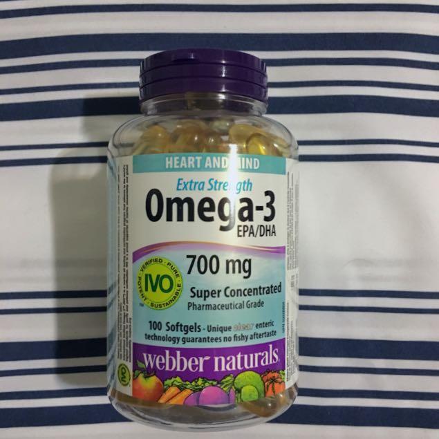 New, Unopened Omega-3