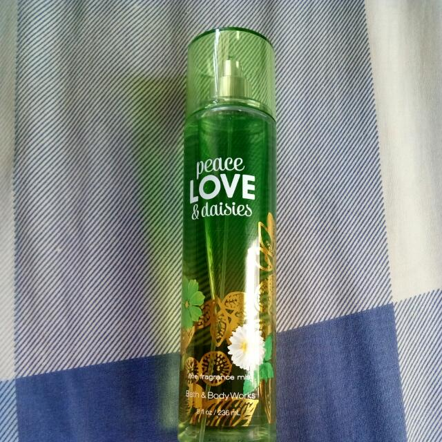 Original Bath & Body Fragrance: Peace Love & Daisies