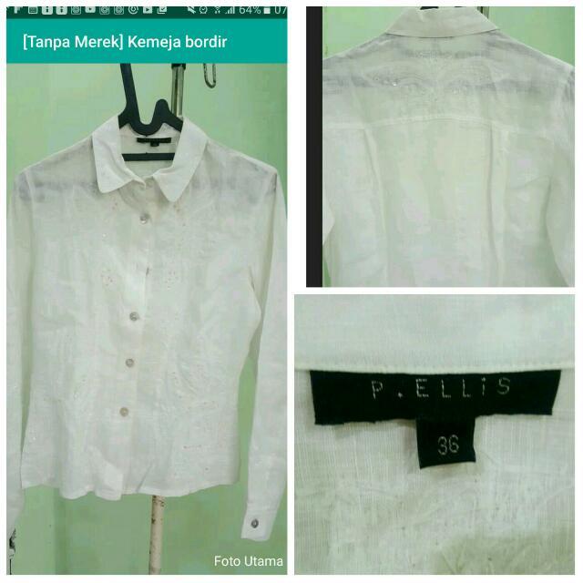 P ELLIS Bordir  blouse