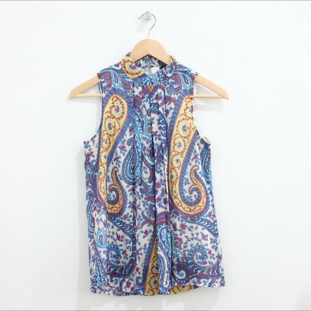 Paisley Pattern Top