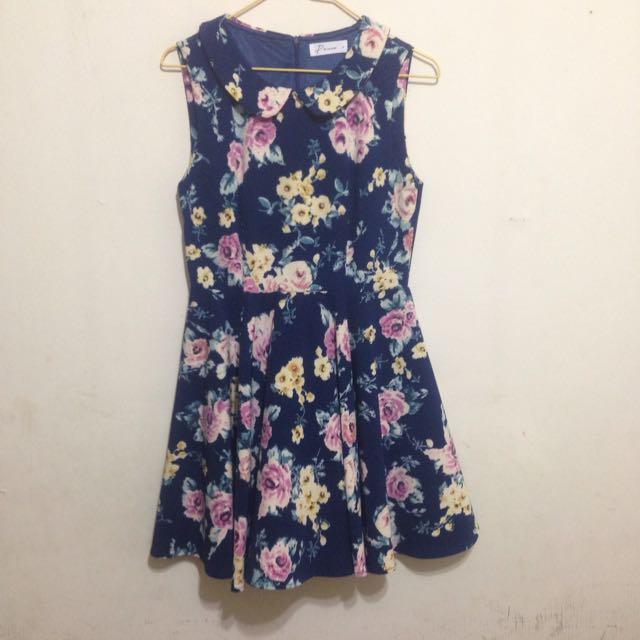 Pazzo玫瑰花洋裝