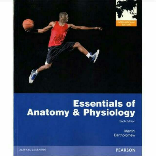 anatomy and physiology pearson 6th edition
