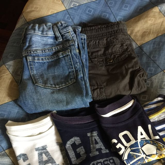 Preloved Stuff For Baby Boy 1-2 Yys Old