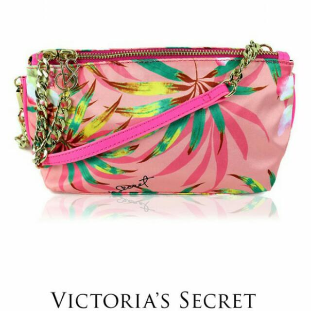 a70fb881f828e Victoria's Secret Crossbody Bag (Floral Pink) #bundlesforyou