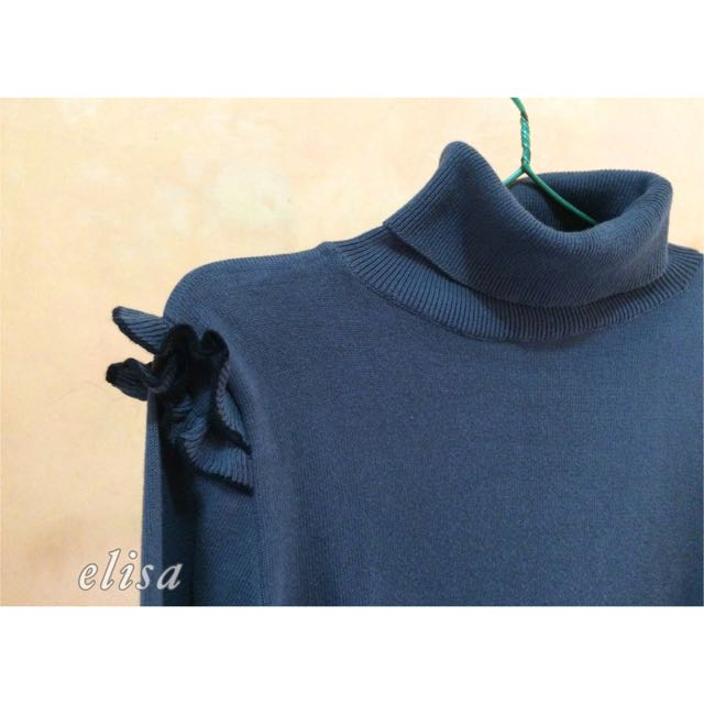 REPRICE Ceil Grey Turtle Neck