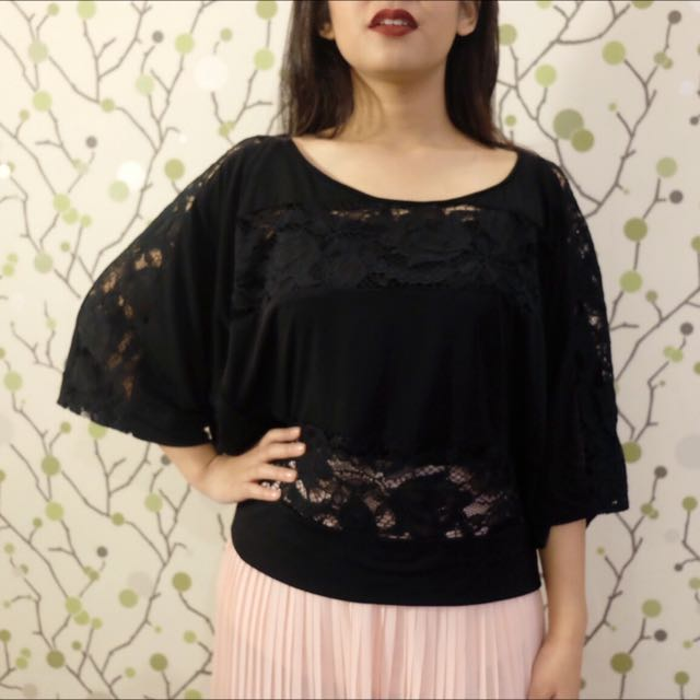 RETAIL THERAPY Black Top
