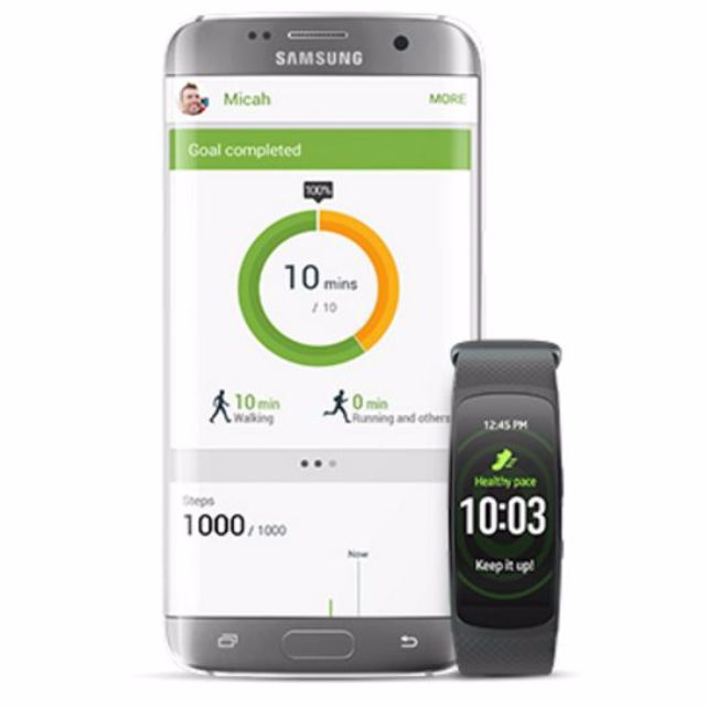 Samsung Galaxy S7 Edge - Vodafone + Bonus Gear Fit2