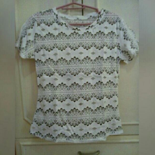 Semi See-through Shirt