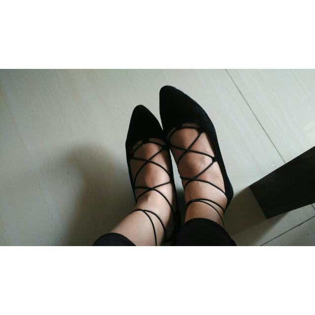 Sepatu Gladiator / Sepatu Tali Cewek