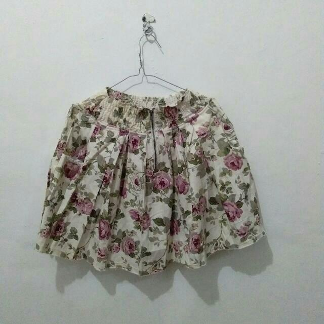 Skirt Flower by Hwy Jeans + Blues (free)