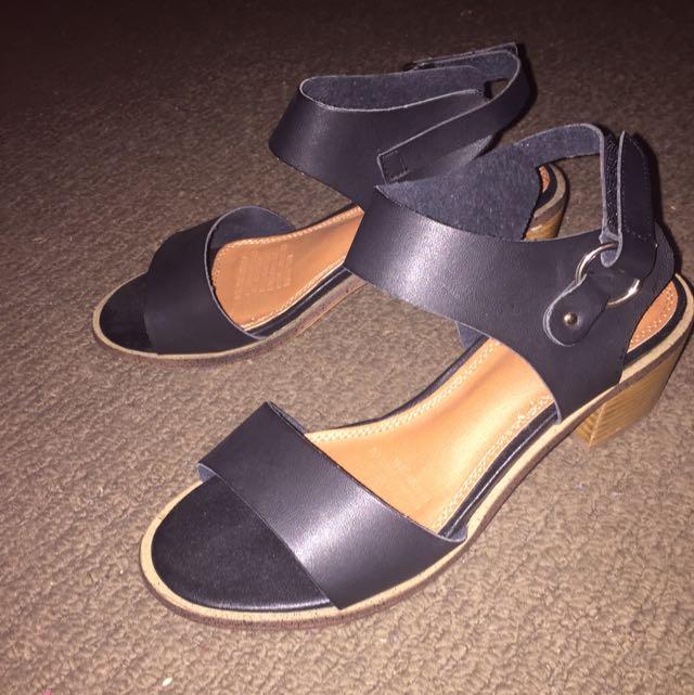 Spurr Low Heel Sandal