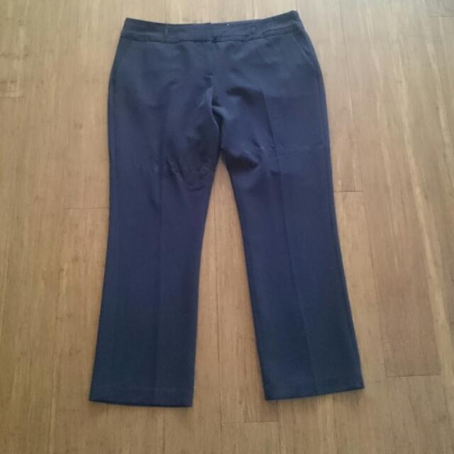 Free Shipping Target Black Work Pants Size 18