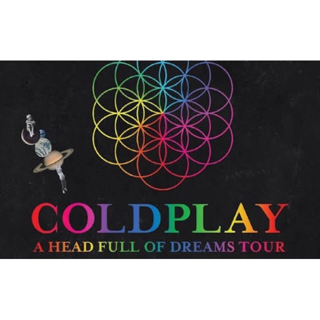 Ticket Coldplay Singapore (CAT 3)
