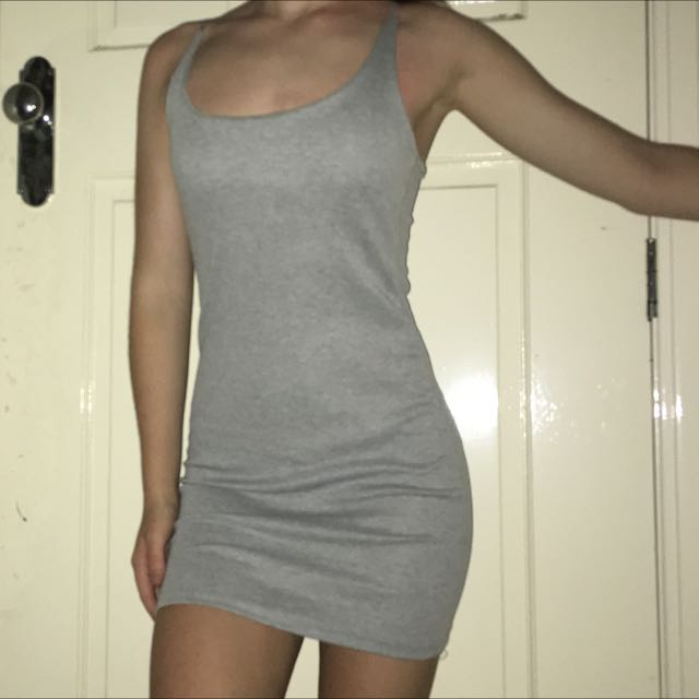 Tight Grey Dress