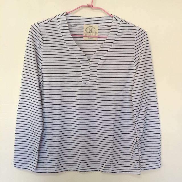 條紋T-shirt